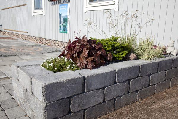 Labyrint Antikk Maxi Grå Mur Støttemur