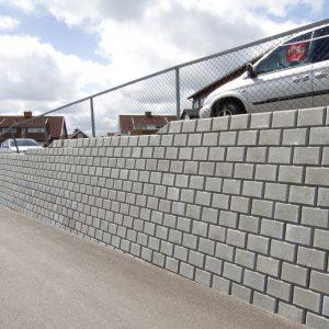 Norblokk Støttemur Mur Forstøtningsmur