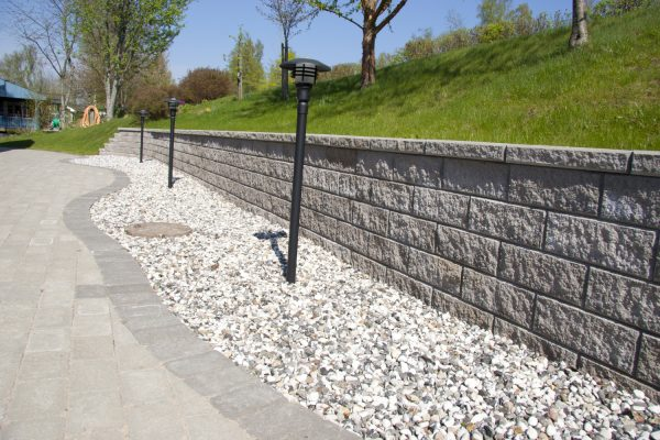 Megawall mur forstøtningsmur Støttemur