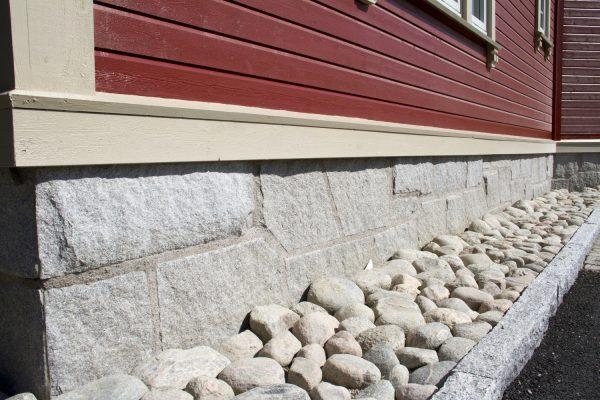 Granitt bekledningsmur mur granitt