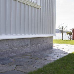 Bohusgranitt Bekledningsmur granitt mur