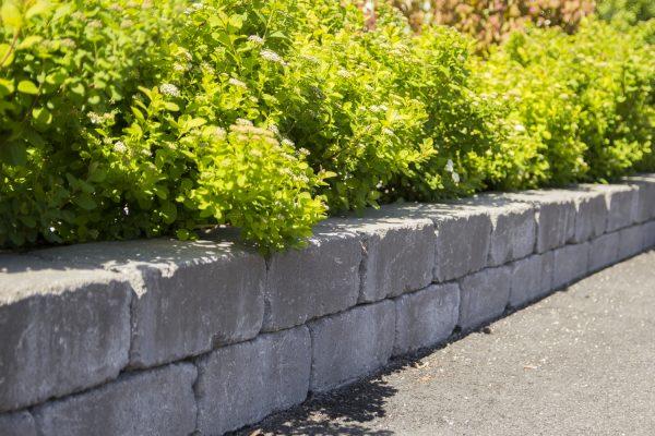 Labyrint Mur Støttemur forstøtningsmur Betongstein