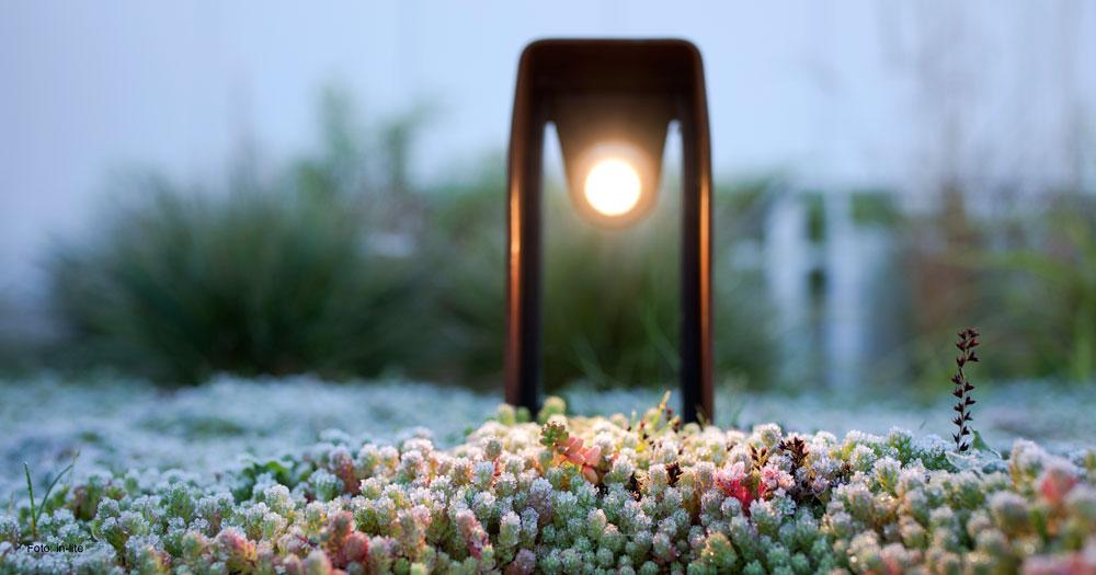 frittstående-utelampe hagelampe hagelys 12V-utelys
